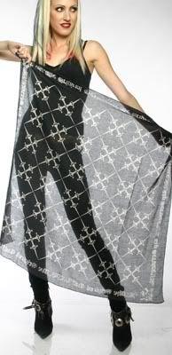 LIP SERVICE Bombay Bandanas dagger argyle scarf #14-120