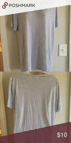 Striped dress Flowy striped dress// kinda short could also be worn w jeans or leggings Forever 21 Dresses