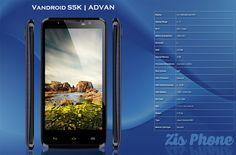 Vandroid S5K | ADVAN | Zis Phone