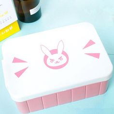 Pink Kawaii Overwatch D.Va Bento Box SP179437