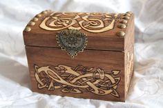 Coffret motif celtique