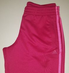 Adidas Womens Pink 3 Contrast Strips Tracksuit Bottoms Trousers Size M UK Tracksuit Bottoms, Adidas Women, Adidas Originals, Trainers, Pink Ladies, Active Wear, Contrast, Clothes For Women, Ebay