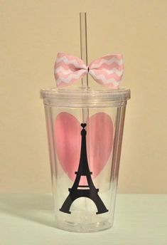 Paris love 16 ounce by SimplyStunningSite