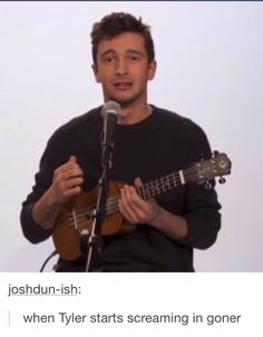 when I showed my mom goner I started screaming with tyler and head banging like crazy and my mom was just starting at me
