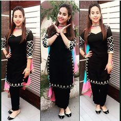 Colors & Crafts Boutique™ offers unique apparel and jewelry to women who value versatility, style and comfort. For inquiries: Call/Text/Whatsapp Punjabi Dress, Pakistani Dresses, Indian Dresses, Indian Clothes, Indian Suits, Indian Attire, Indian Wear, Indian Style, Punjabi Fashion
