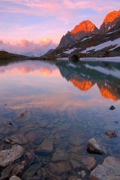 "National Park ""Hohe Tauern"", Carinthia, Austria, Alps, sunset"