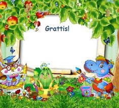 Gratis utskrivbara födelsedagskort för barn (M)