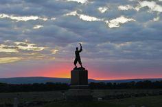 Cemetery Ridge Gettysburg National Military Park  72nd PA monument