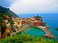 Cinque Terre, Italy - Mel and I hiked the full trail to all 5 villages.   http://travel.nationalgeographic.com/travel/parks/cinque-terre-italy/