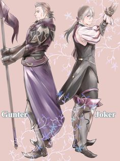 Fire Emblem Fates/If: Gunter and Jacob