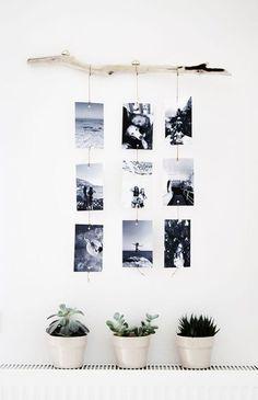 Make a photo wall yourself: ideas for a creative wall design Fotowand selber machen: Ideen für eine kreative Wandgestaltung Make a photo wall yourself: ideas for a creative wall design Cheap Home Decor, Diy Home Decor, Diy Wand, Creative Walls, Creative Design, Creative Ideas, Home And Deco, Diy Wall Decor, Wall Decorations