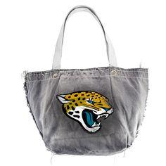 Jacksonville Jaguars NFL Vintage Denim Tote