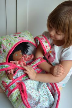 Sewing: Baby Doll Baskets for the Waldorf Dolls - Aesthetic Nest