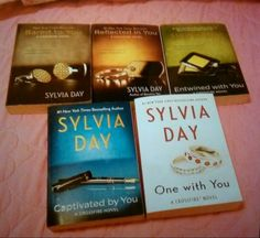 Thank you Silvia Day for Crossfire  series!