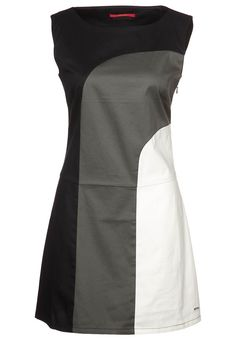 Skunkfunk Colourblock Shift dress - black