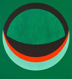 Karl Benjamin, Untitled on ArtStack #karl-benjamin #art 1957