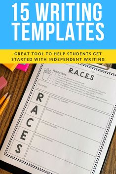 These 15 writing graphic organizers are a great resource to put in your writing station. Students can use them during independent writing time or you can use as a structured part of your writing lesson. Writing Genres, Paragraph Writing, Narrative Writing, Opinion Writing, Persuasive Writing, Writing Lessons, Writing Process, Writing Workshop, Teaching Writing