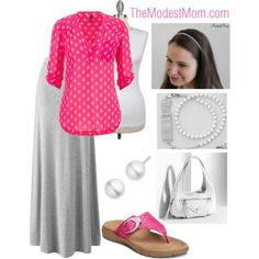 Gone Shopping in Pink - The Modest Mom
