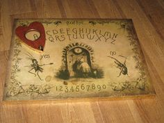 Cultural Compulsive Disorder: These Homemade Ouija Boards Will Help You Channel All The Spirits In Your Life