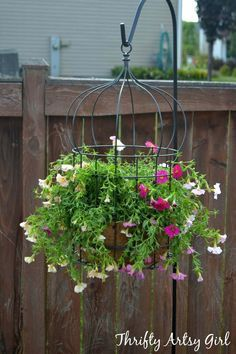 Des plantes suspendues pour décorer mon jardin! Voici 20 exemples inspirants…