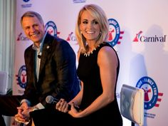 Carrie Underwood Carnival Cruise Line Operation Homefront