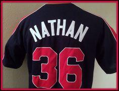 MINNESOTA TWINS MLB JOE NATHAN STITCHED JERSEY ADULT MEDIUM FREE SHIPPING #MLB #MinnesotaTwins