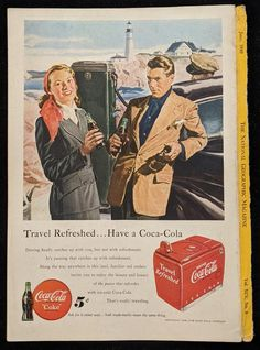 Coca-Cola Vintage Advertisement From the June 1949 National | Etsy