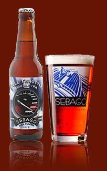 Sebago Brewing Company in Portland Maine. One of Our Seasonal Beers - Full Throttle Double IPA