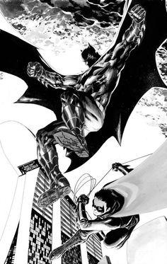 Batman and Robin by Philip Tan