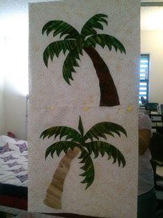 Kauai Tropical Beach Landscape Seascape Quilted Wall