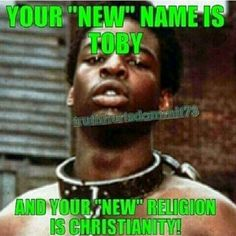 If it werent for your ancrstors slave masters none of you negros would be Christian.