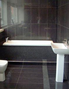 black slate bathrooms - Google Search