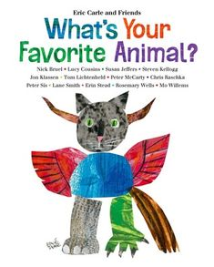 What's Your Favorite Animal? Illustrations by different illustrators.