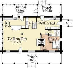 Country Porches - 18815CK | Craftsman, Mountain, Northwest, Vacation, 2nd Floor Master Suite, Den-Office-Library-Study, PDF | Architectural Designs