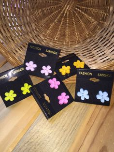 Pastel Flowers by tammisknickknacks on Etsy