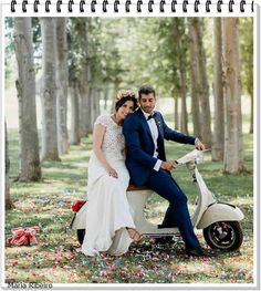 Perfect Wedding, Our Wedding, Dream Wedding, Vespa Wedding, Planners, Scooter Girl, Fitness Gifts, Couple Posing, Wedding Photos