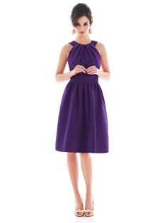 Alfred Sung Style D492  #purple #bridesmaid #dress
