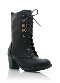 $34.70 part victorian, part combat. Heel might be a touch high for how I want to wear them. Not sure if I should just go flat.