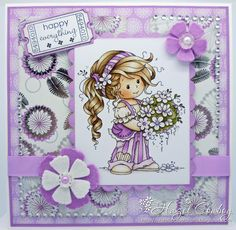 Simply Me ...: WEE STAMPS TOPPERS - SILVER FAIRY
