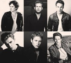 The Boys of The Vampire Diaries