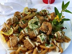 New York Pasta Garden: The sea food platter