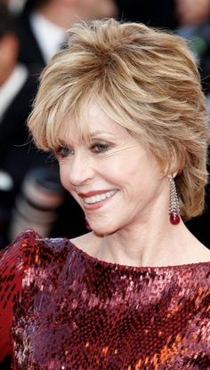 Jane Fonda's hair