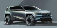 Mercedes GL on Behance Car Design Sketch, Truck Design, Car Sketch, Mercedes Gl, Daimler Benz, Futuristic Cars, Future Car, Automotive Design, Art Cars