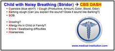 Child with Noisy Breathing mnemonic (Stridor) USMLE step 2 CS