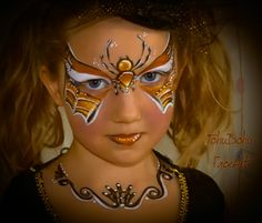 1000 images about maquillage on pinterest papillons - Maquillage enfant sorciere ...