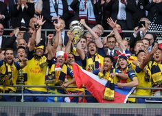 Arsenal... FA Cup winners 2015!