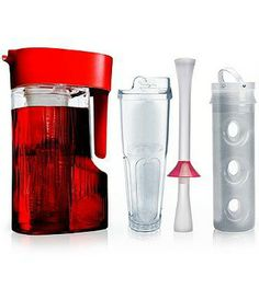 Instantly create your own infused waters, teas and juices with the unique Primula Flavor Now Beverage System.