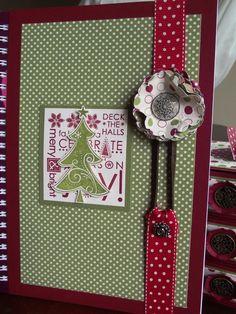 Felicity's Craft Corner: Decorated Notebook