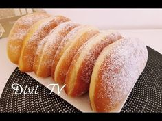 Krapfen / Berliner/ auf Divis Art/ Donuts/ ENG SUB - YouTube Baked Pancakes, Baked Donuts, Donut Recipes, Cake Recipes, Cooking Recipes, Chocolate Donuts, Chocolate Recipes, Beignets, New Orleans Recipes