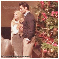 BDCH Christmas Concert Charity in London UK 2014 David Gandy & Mollie King .